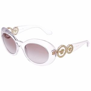 VERSACE VE4329 Clear Medusa Sunglasses